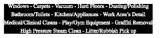 clean 4 me services